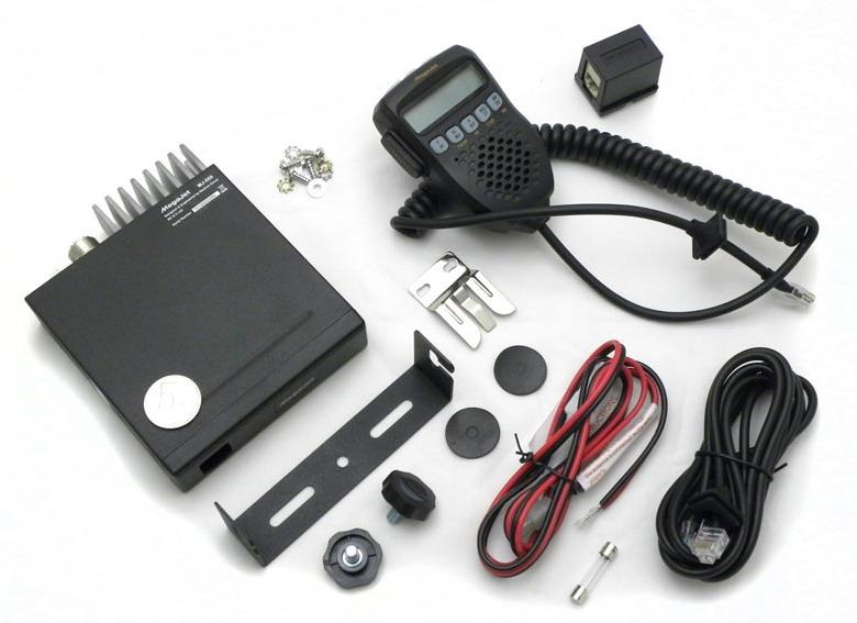 В комплекте: Радиостанция MegaJet MJ-555, тангента, провод питания, дополни